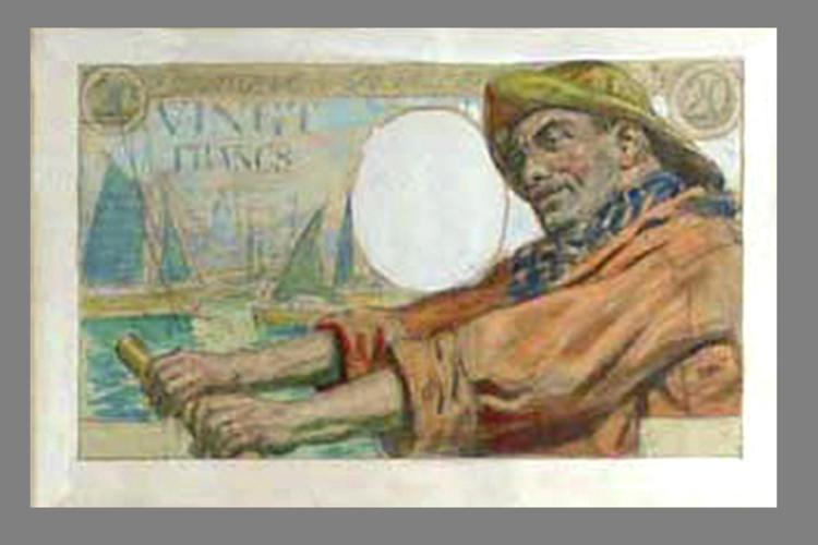 20 Francs Pécheur 1942 recto