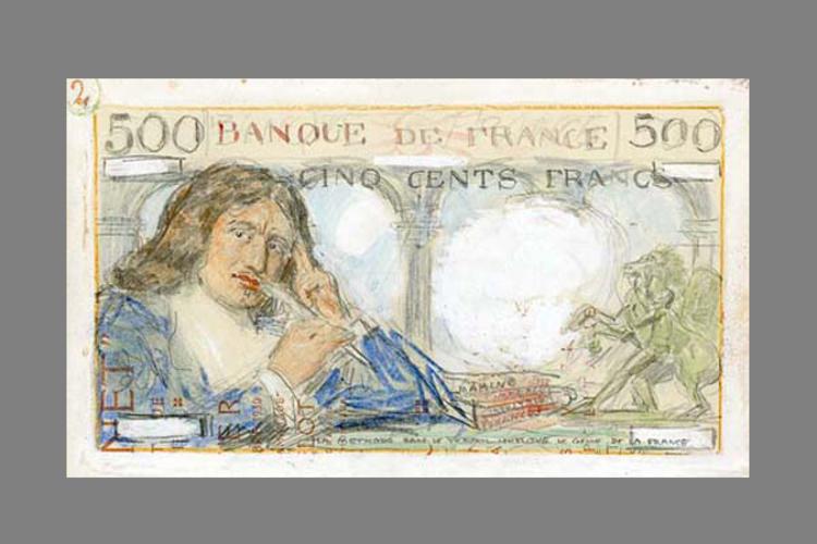500 Francs Colbert 1943 recto