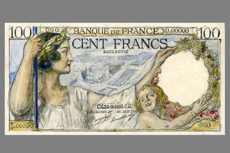 100 Francs Sully 1939 recto
