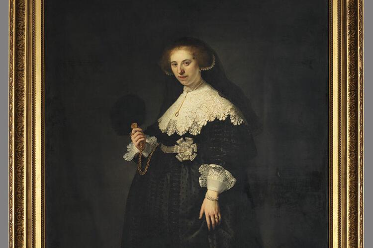 Portrait d'Oopjen Coppit par Rembrandt
