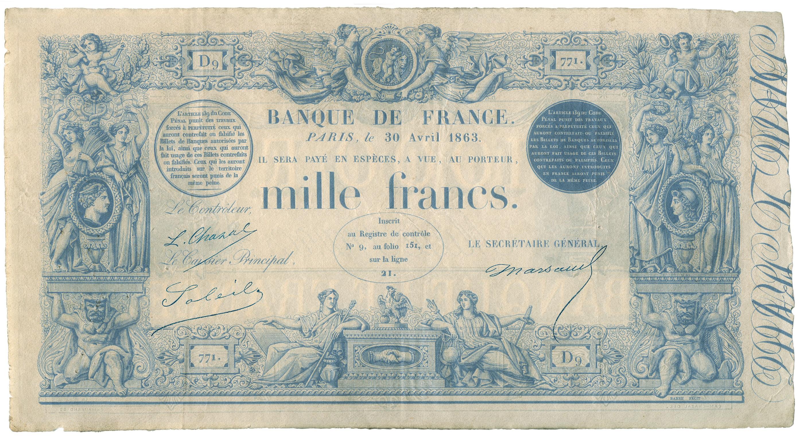 billet de banque usage